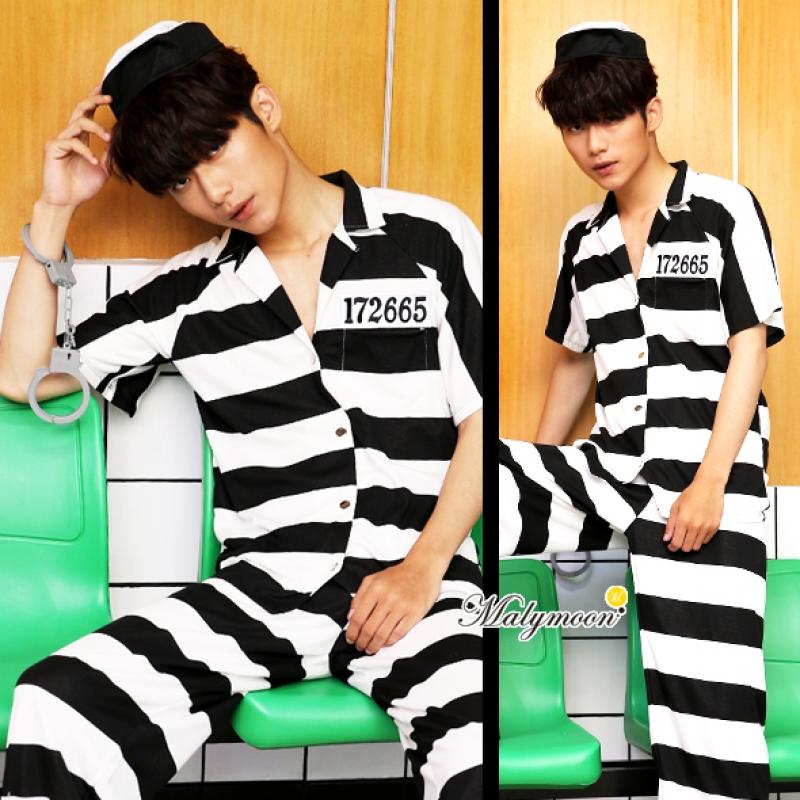 ハロウィンコスプレ囚人