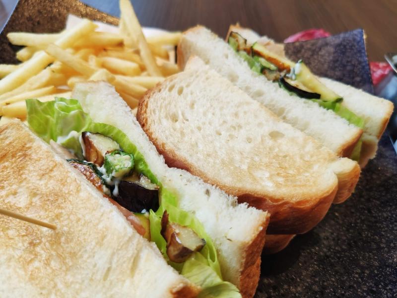 桜珈琲サンドイッチ