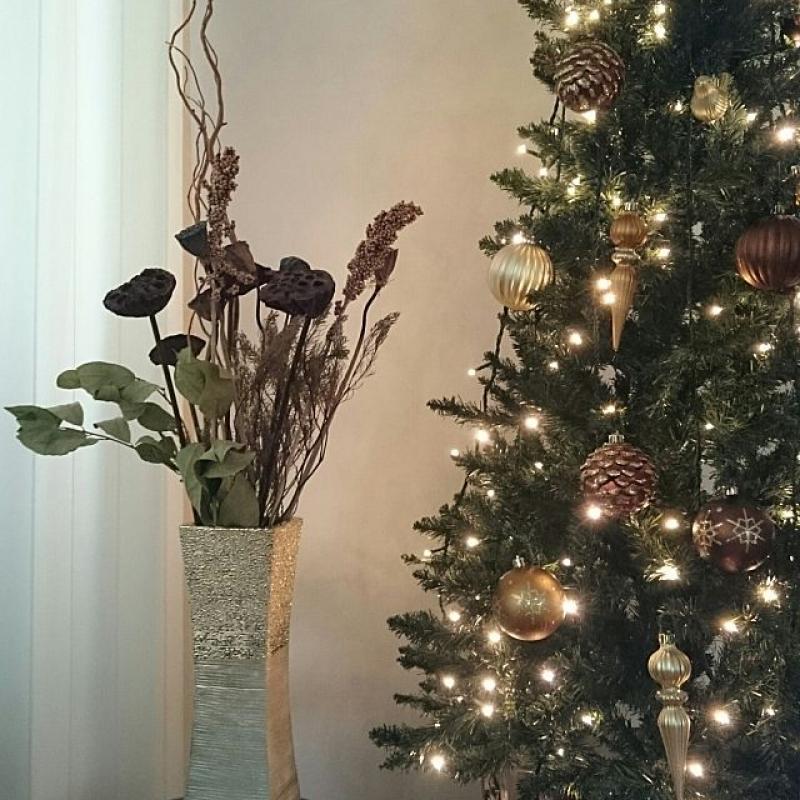 北欧クリスマスツリー飾り付け