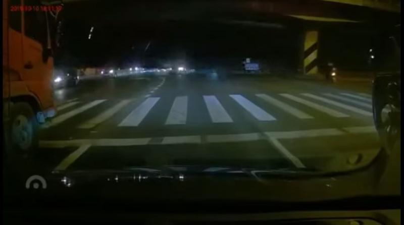 中国江蘇省無錫市高架道路崩落