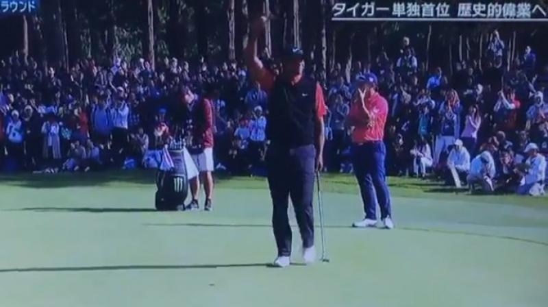 タイガー・ウッズZOZO82勝目