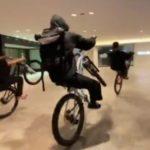 なんばCITY迷惑自転車PHANTOM
