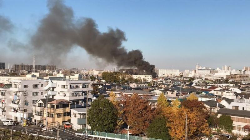11月15日鶴見区火事